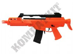 M48 G36 Style Airsoft BB Gun Black and Orange